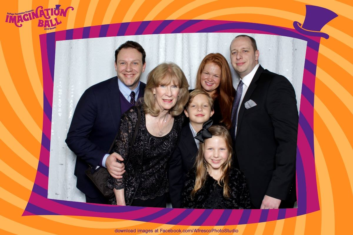Imagination Ball Photo Booth Pictures
