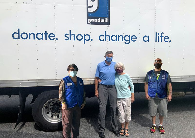 Goodwill Food Bank Truck to Operate Through April 2021