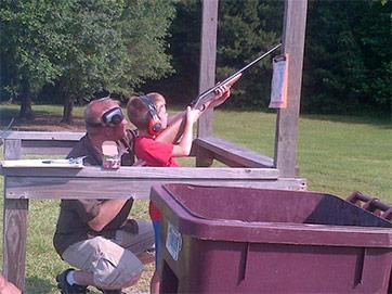 Louisiana Youth Flex Shooting Muscles