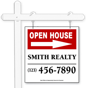 Hanging Real Estate Signs