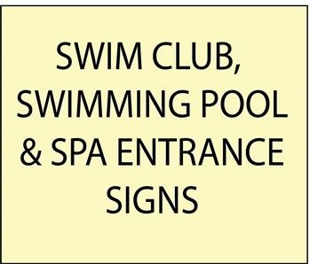 1. -  GB16100  - Wooden Swimming Pool Entrance, Safety and Rule Signs