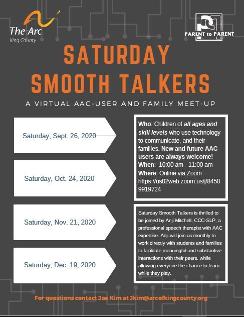 Virtual Saturday Smooth Talkers