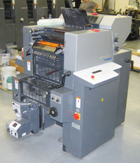 Heidelberg Quickmaster - 2 Color Press
