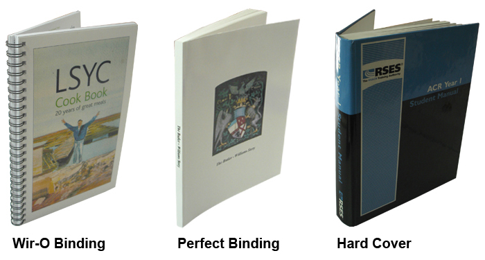 types of binding for dissertations What type of binding do you offer we only offer soft binding  how do i arrange  for my dissertation/final year project to be bound please bring your printed.