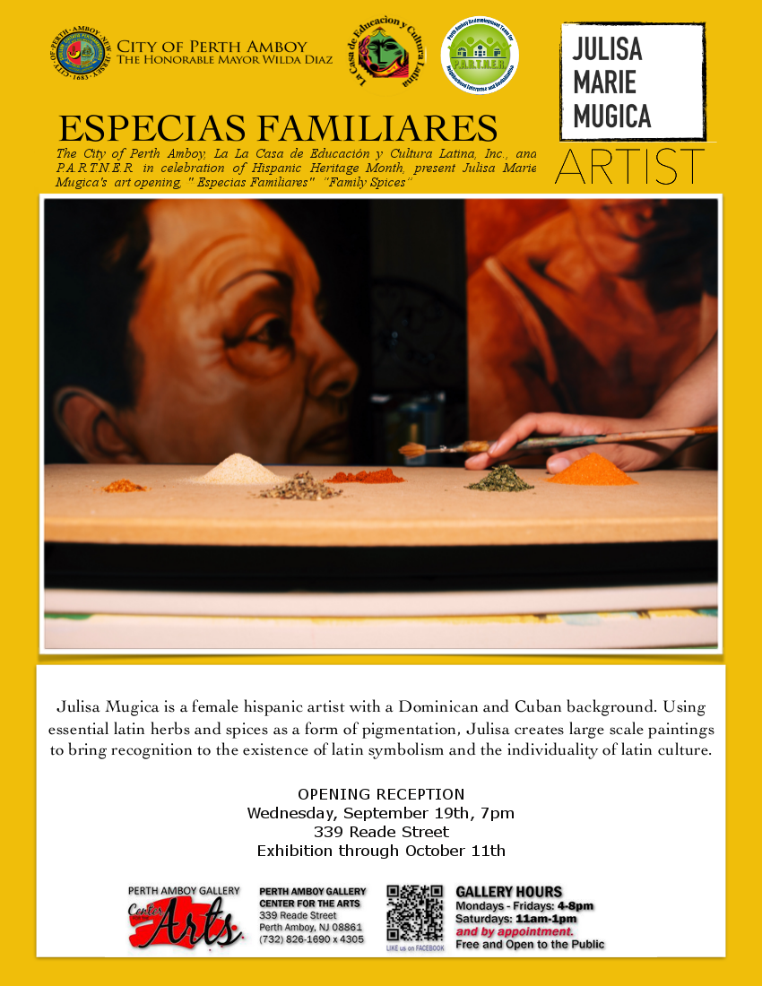 HHM-Especias Familiares/Family Spices Art Opening