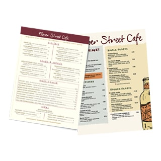 Disposable Menus