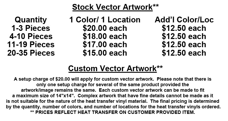Heat Transfer Shirts