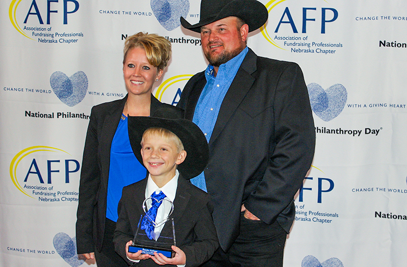 Tabitha's Youngest Donor Recognized for Commitment to Philanthropy