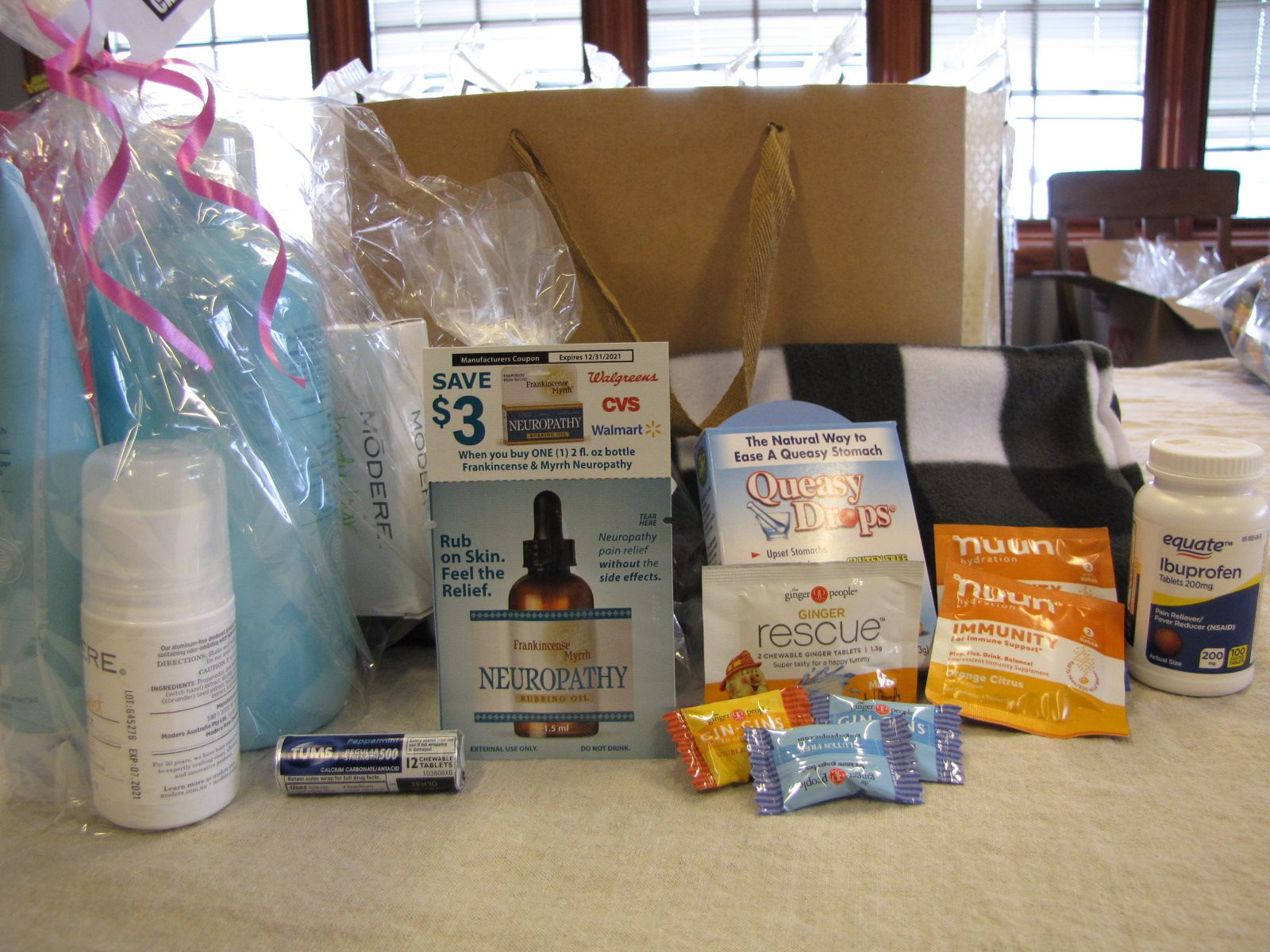 Patient Relief Kits