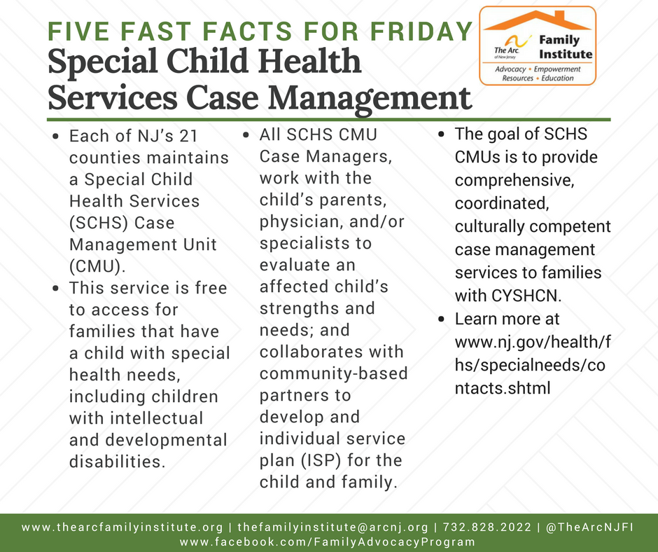 Special Child Health Services