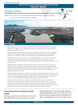Da Nang: Recommendations on Adaptive Measures for Cau Do and Hoa Lien Water Supply Facilities (Policy Brief)