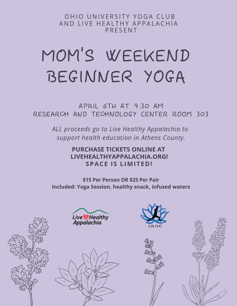 Mom's Weekend Beginners Yoga