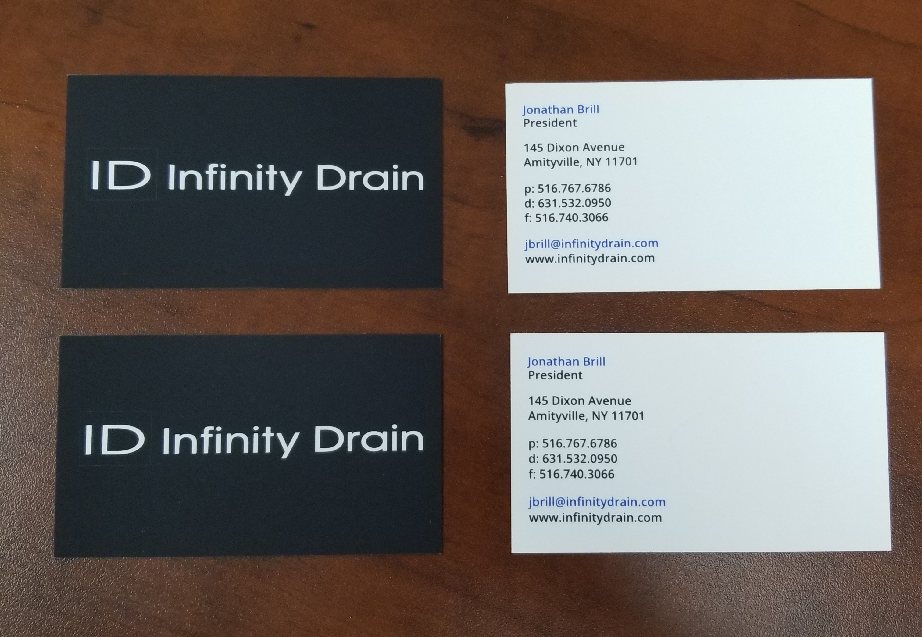 Soft Touch Laminate Business Cards