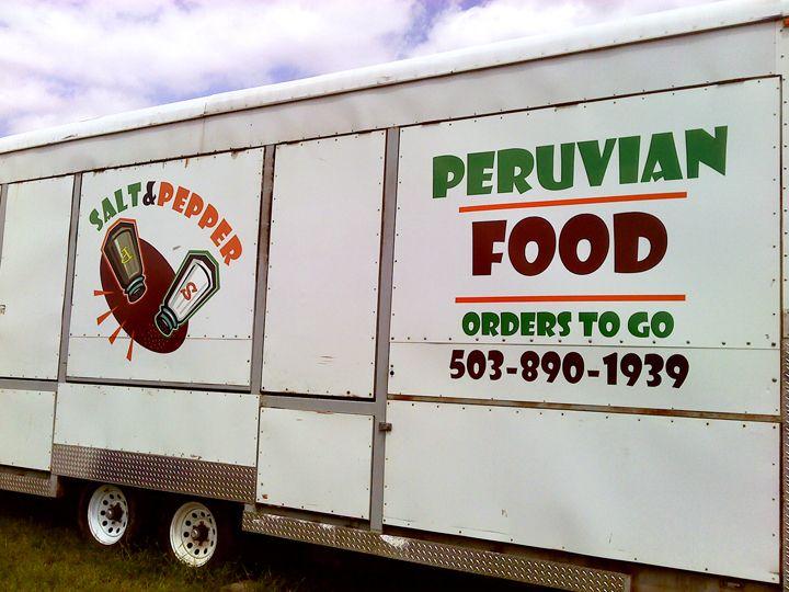 Salt & Pepper Food Cart Graphics