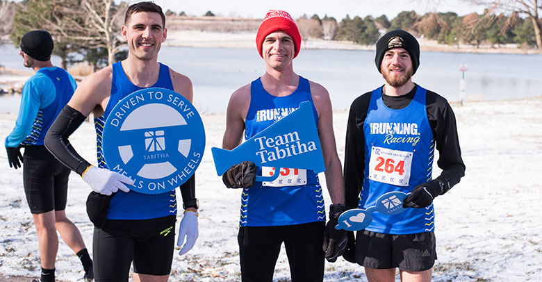 Lincoln Running Co runners at the Tabitha 10k