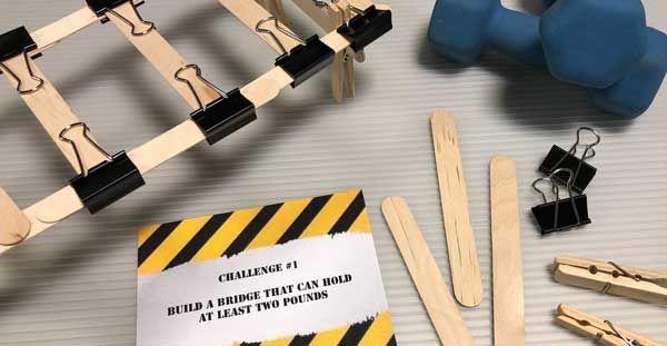 Engineering Week Design Challenge Family Activity