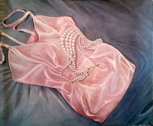 Satin and Pearls