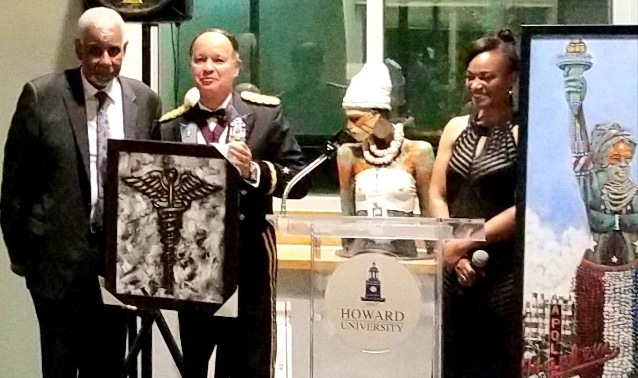 D.C. ROCKS Mentor and Community Leader Major General (Ret.) George A. Alexander, Class of 1977, Receives Harlem Fine Arts Show 2019 Salute to African Americans in Medicine Prestigious Award