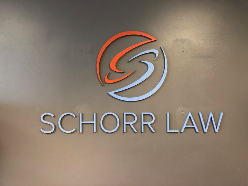 Lobby Logo Signs for Los Angeles Offices