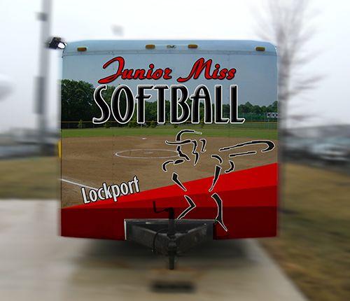 Junior Miss Softball Trailer