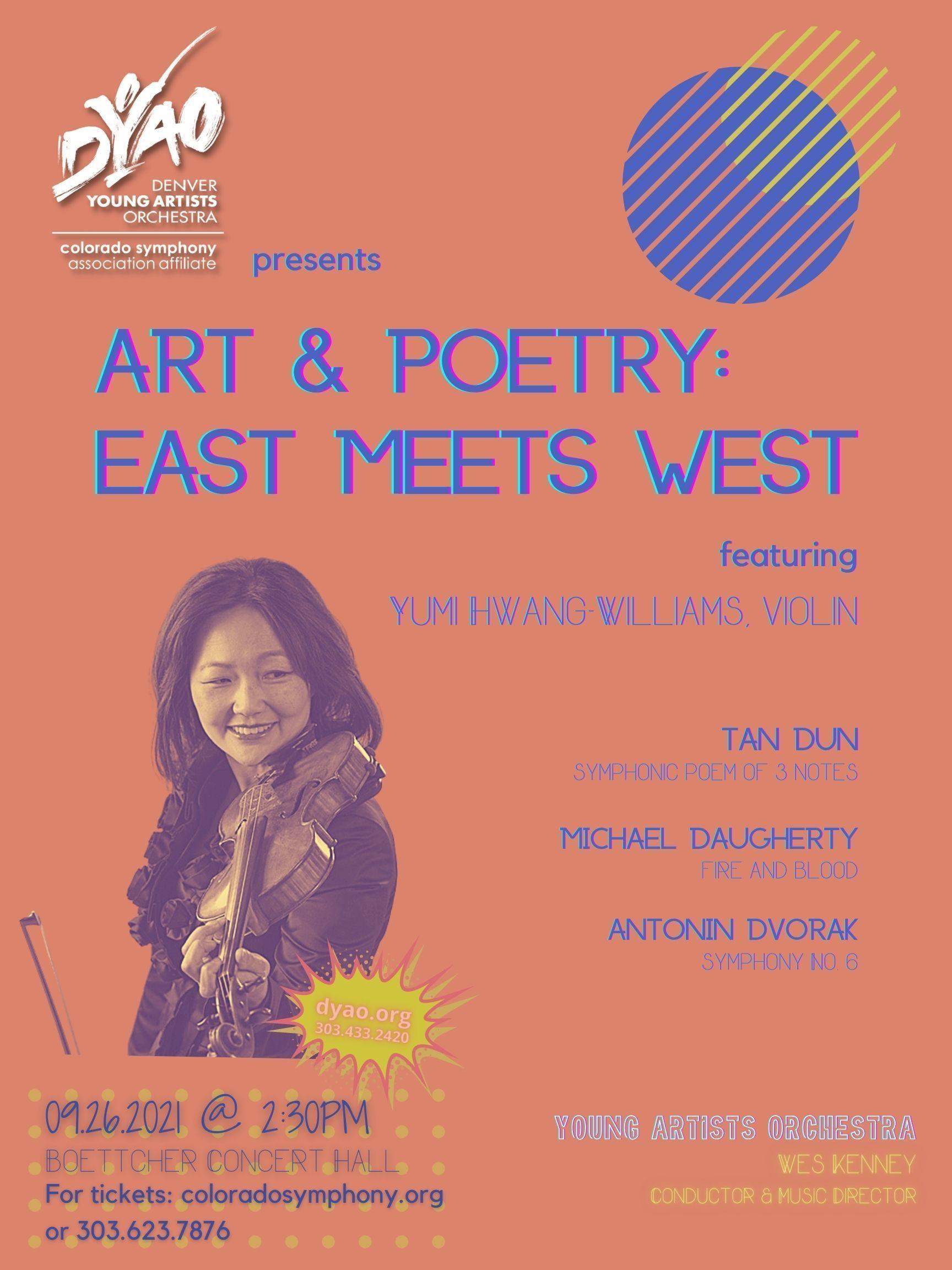 DYAO presents Art & Poetry: East Meets West