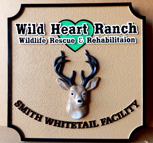 O24553 - Sign for Wildlife Rescue and Rehabilitation Ranch
