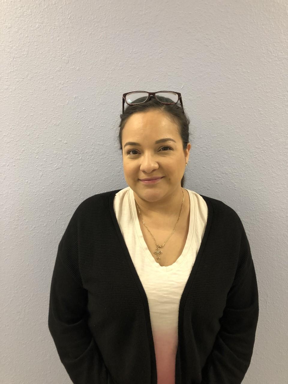 Liza Garcia, Front Office Specialist