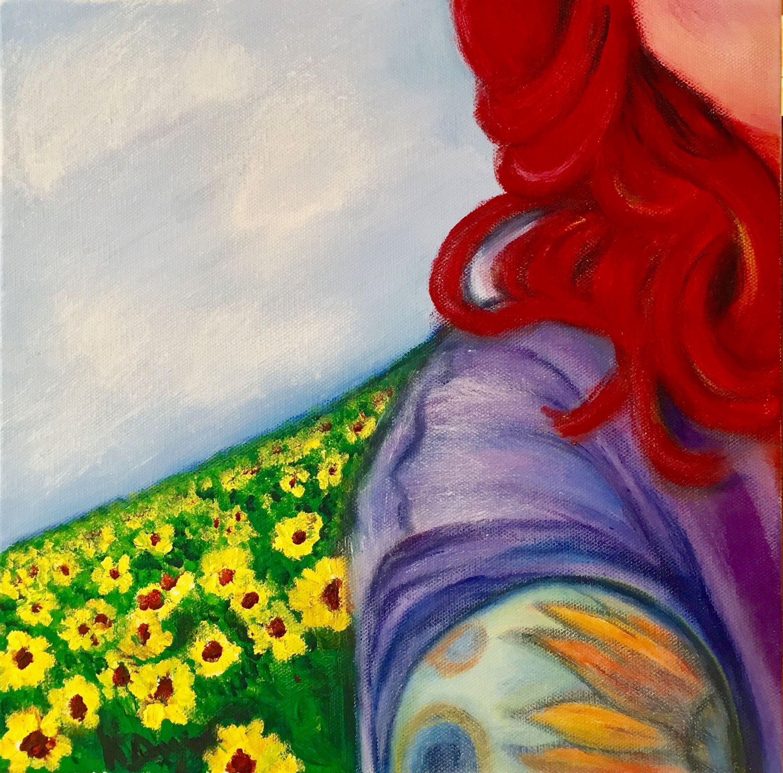 Artist: Kat Dwyer, Acrylic on Canvas