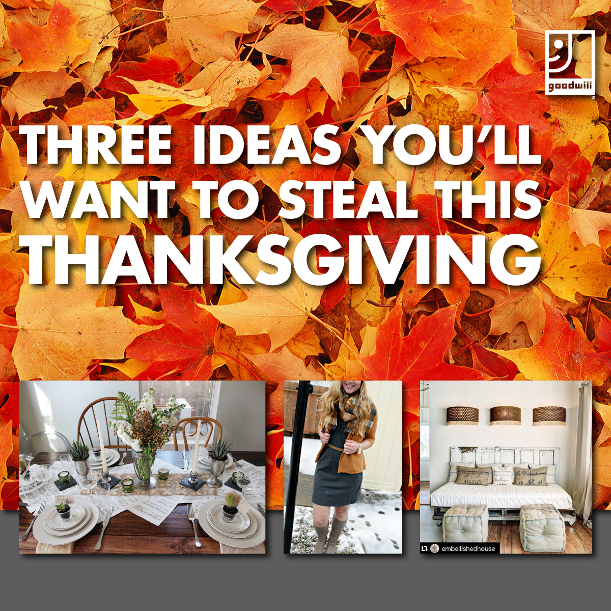 Three Ideas You'll Want to Steal this Thanksgiving