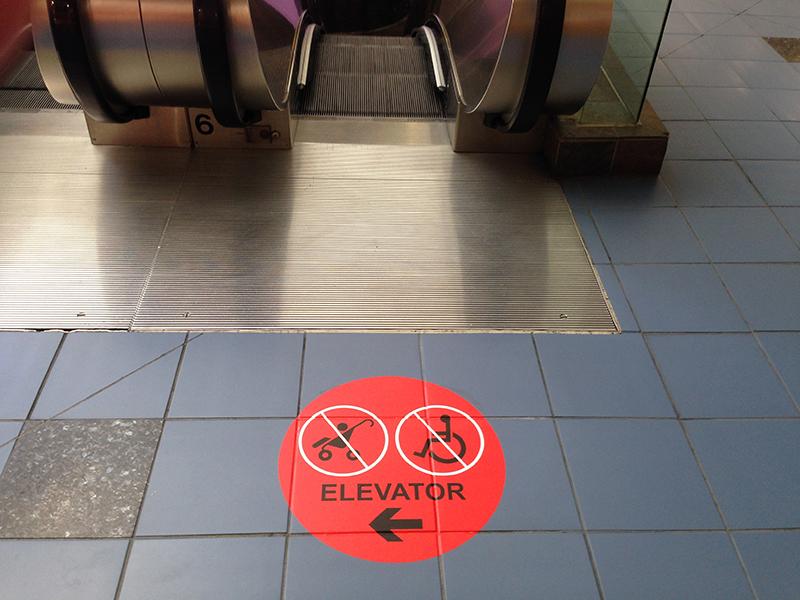 Mall Floor Graphics