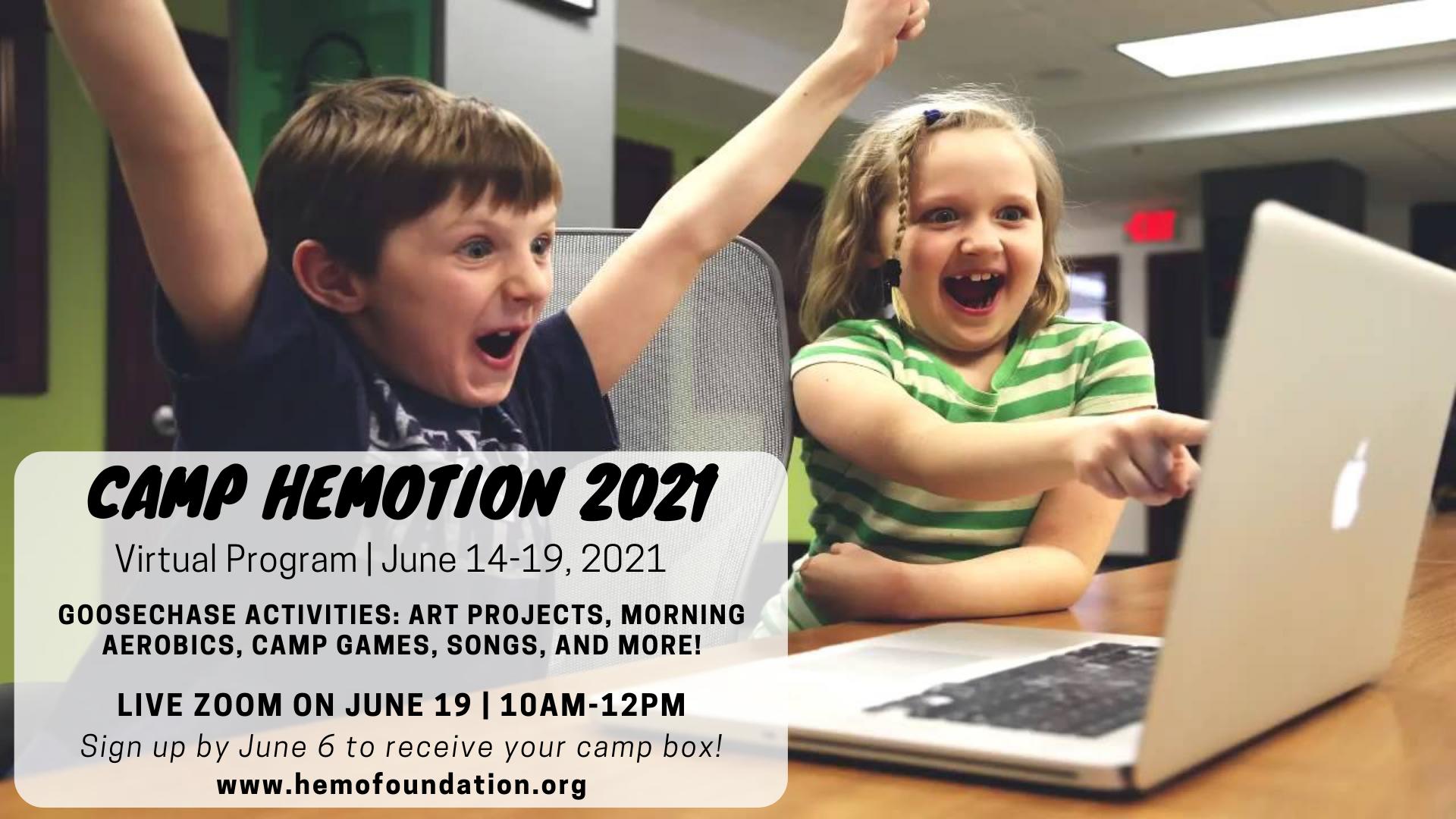 Virtual Camp Hemotion 2021