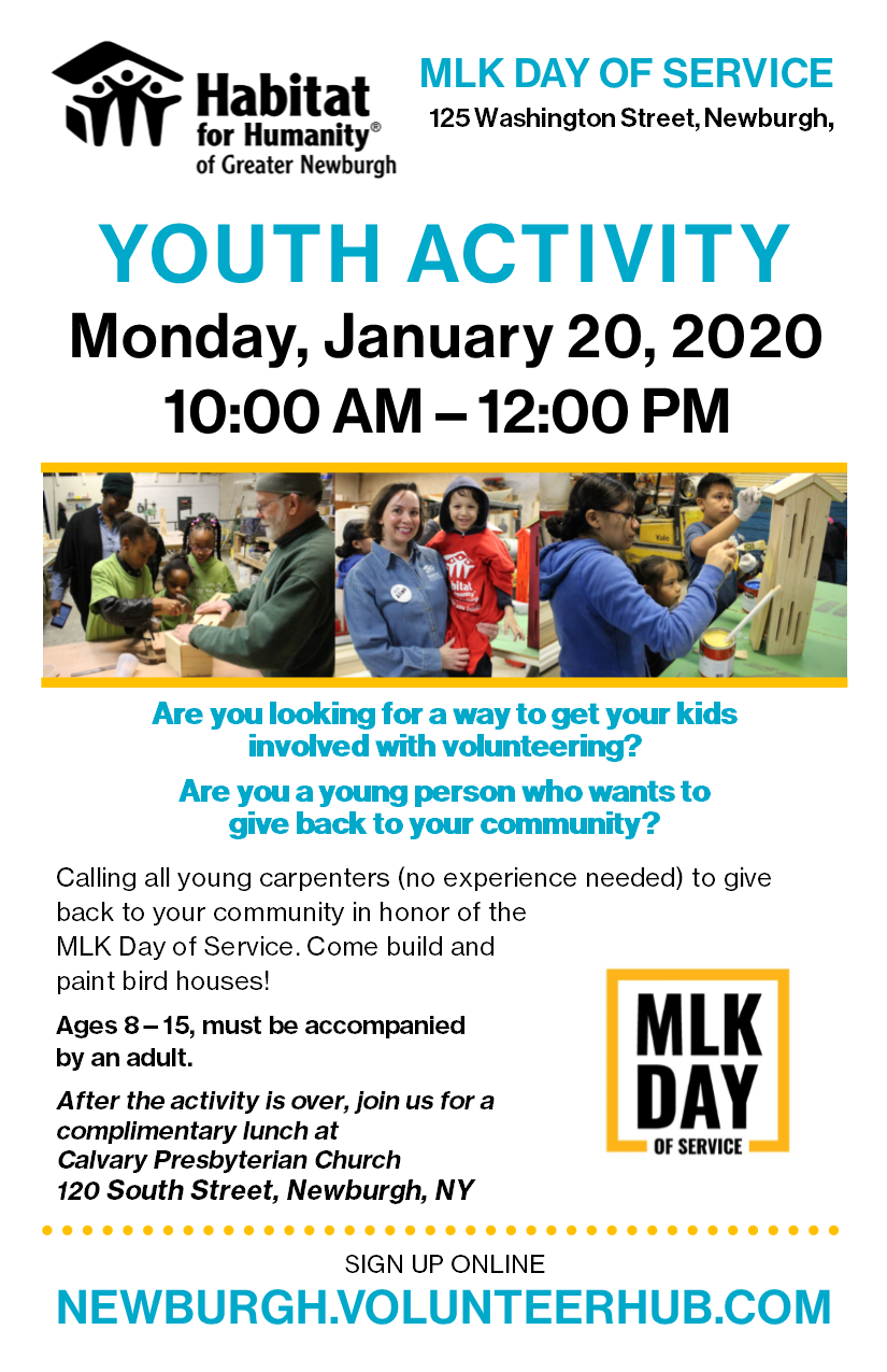 MLK Day Children's Activity