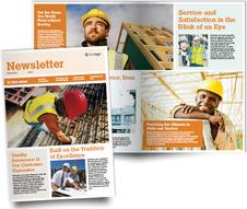 Single-Fold Newsletter - Tabloid
