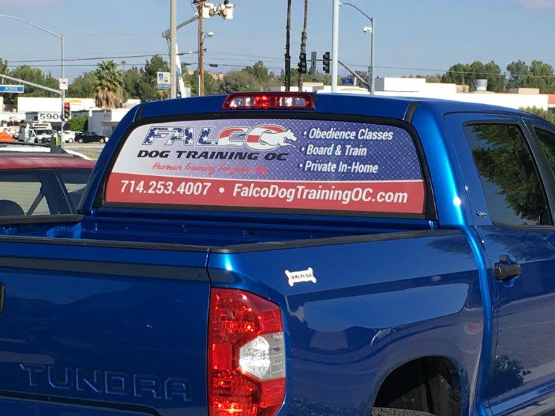 Truck Window Graphics