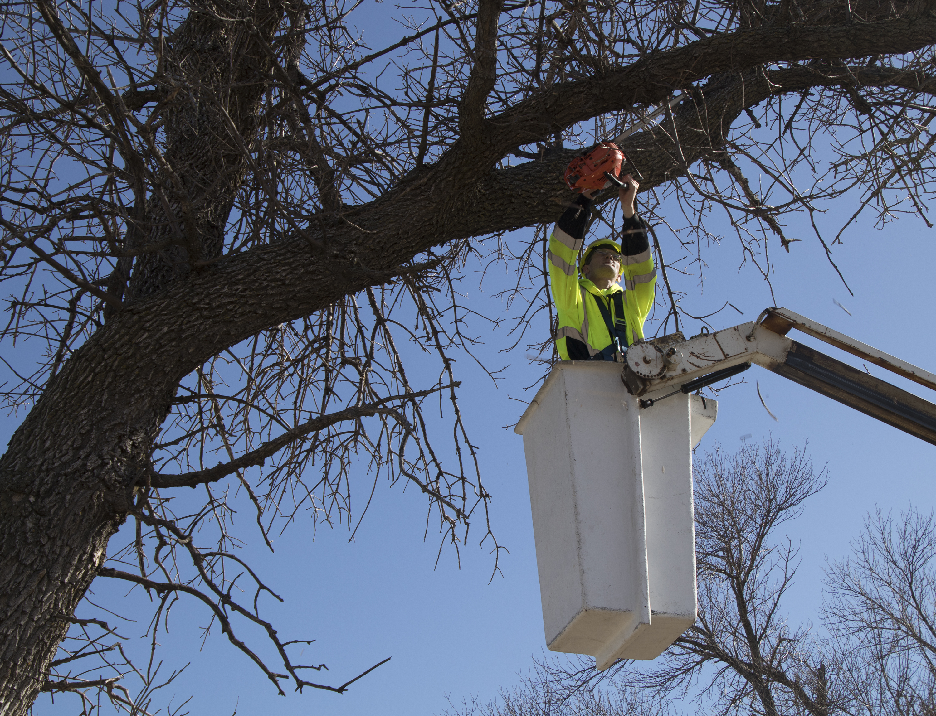 City of Atkinson uses grant for safety harness