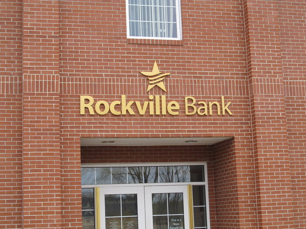 "Outdoor Fabricated Dimensional Letters, 2"" thick Stainless Steel with Nu-Gold Finish, Logo Style"