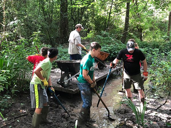 Eagle Scout Project to Deepen Pond