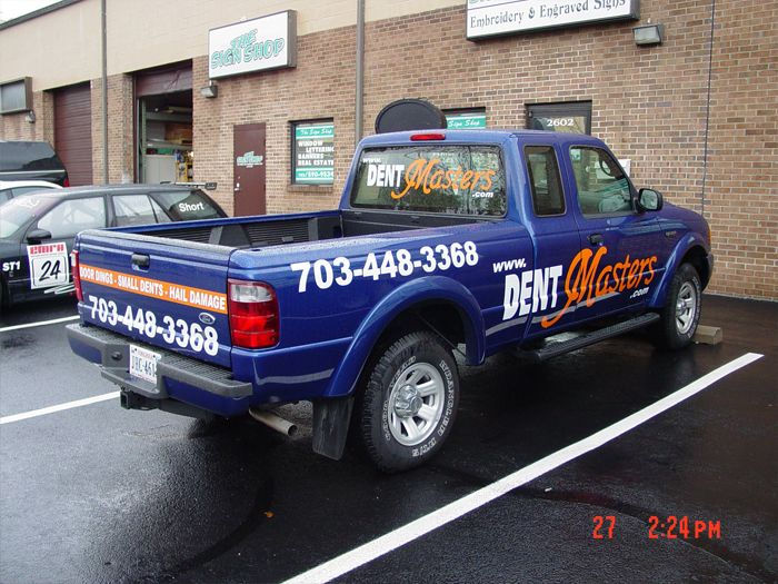 Dent Masters Truck Graphics