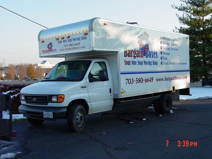 Bargain Boxes Truck Graphics
