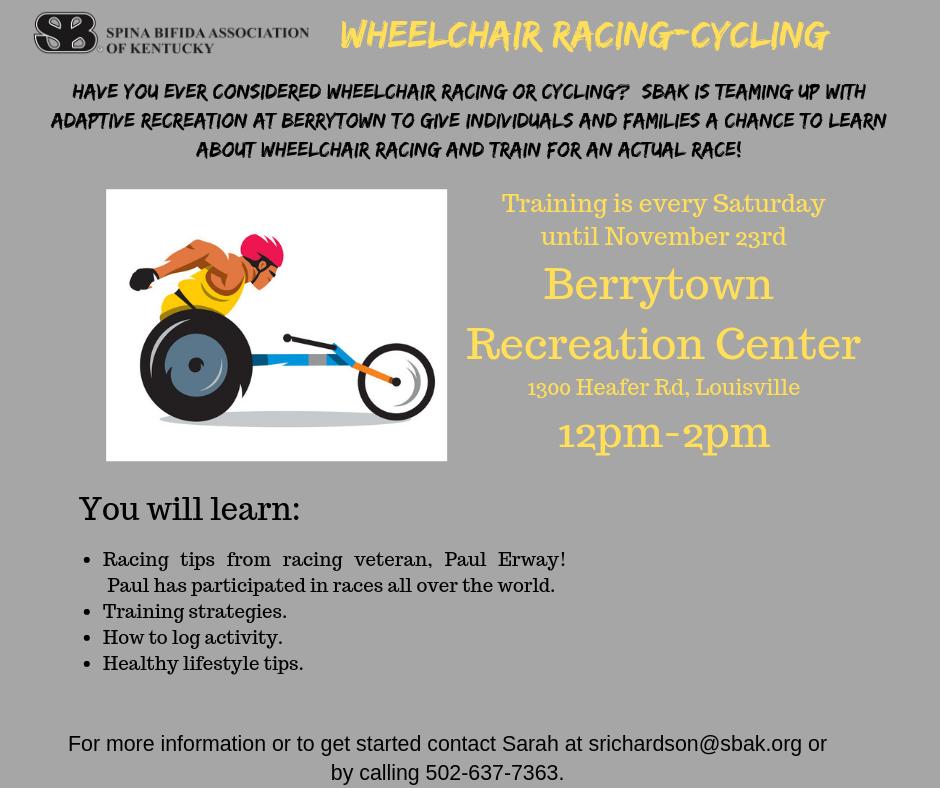 Wheelchair Racing-Cycling