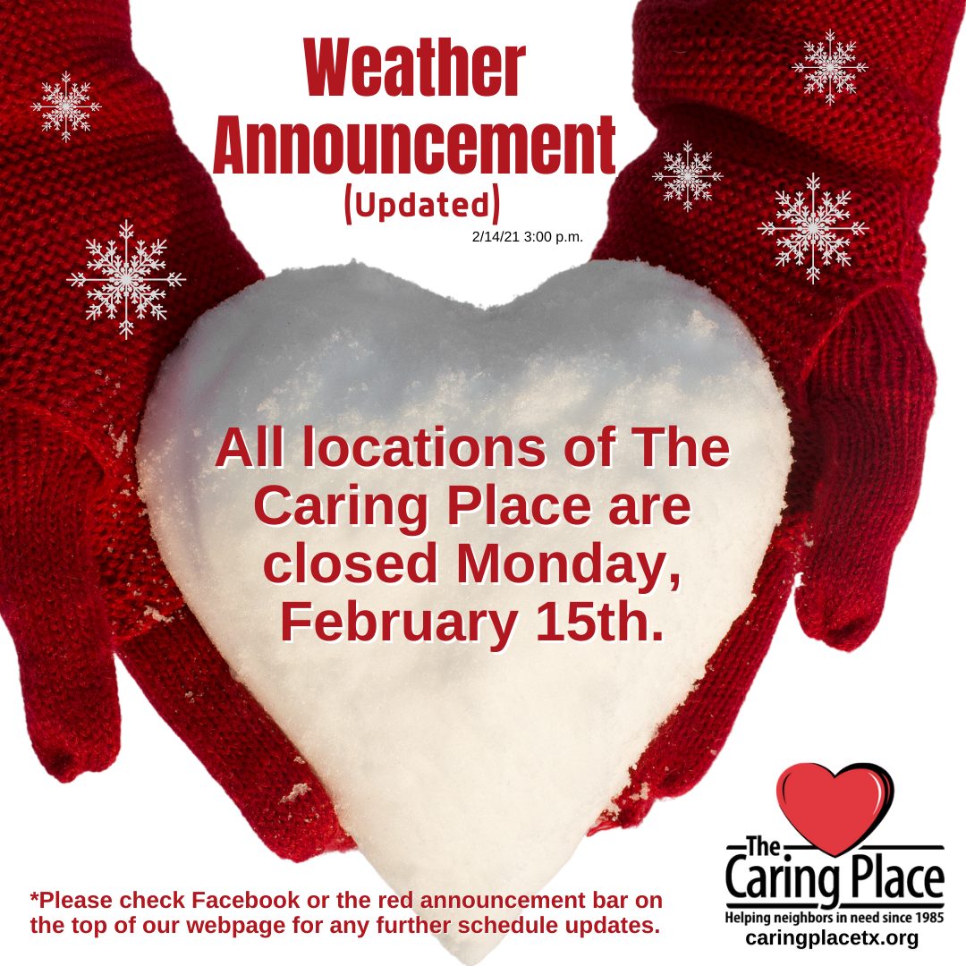 The Caring Place Closed February 15th