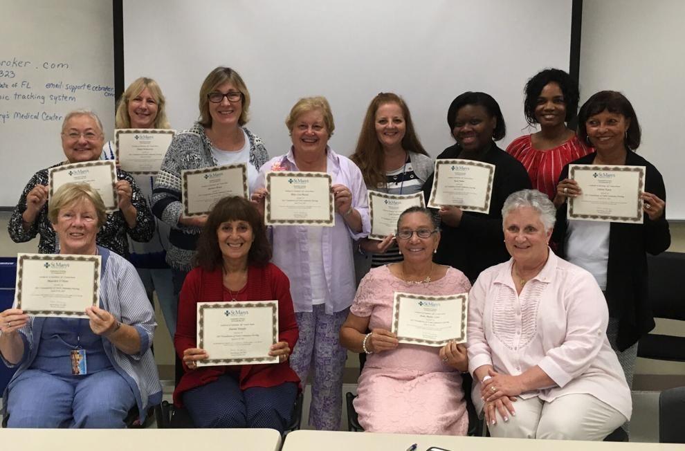 Parish nurse volunteers promote whole-person care