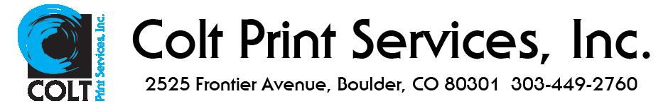 Colt Print Services, Inc.