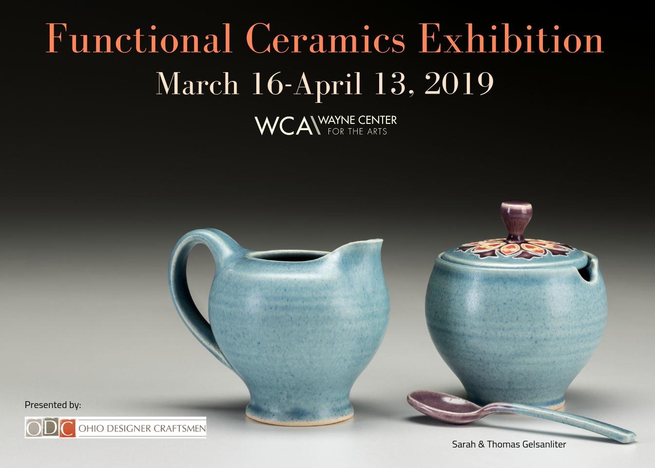 Functional Ceramics Exhibition