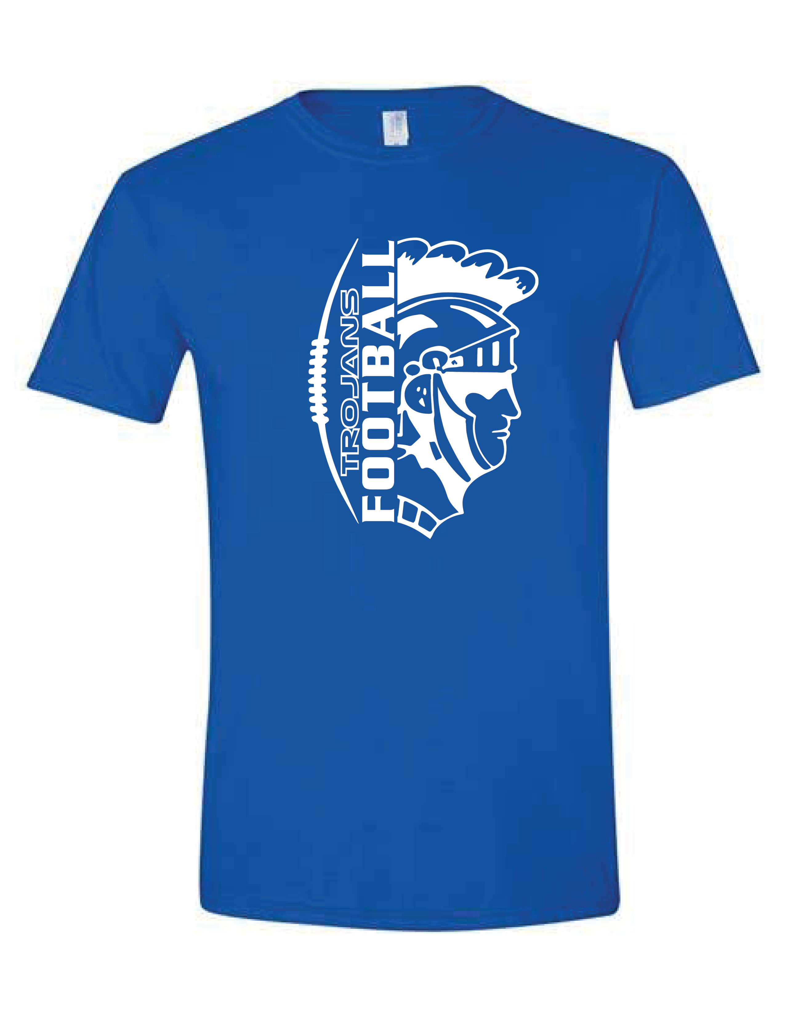 Short Sleeve T-shirt  (TROJAN) (Youth sizes available)