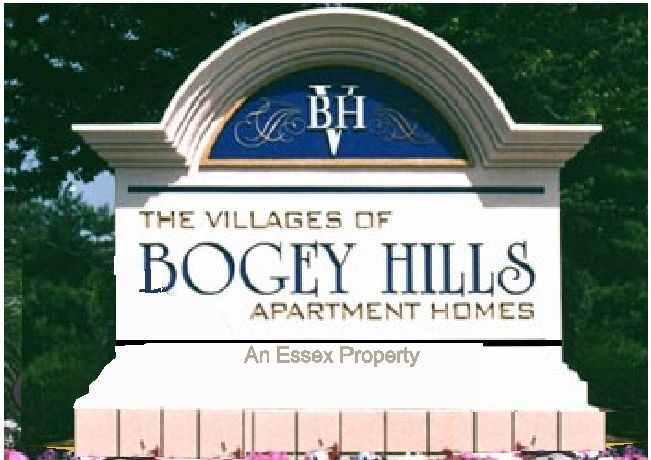 K20023 - EPS Monument Sign for the Villages of Bogey Hills Apartment Complex, with Top Arch