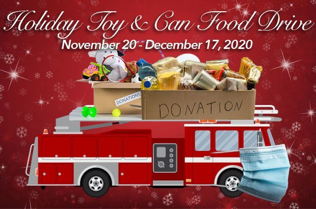 HOLIDAY TOY AND CANNED FOOD DRIVE
