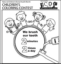 A Coloring Contest to Promote Oral Health
