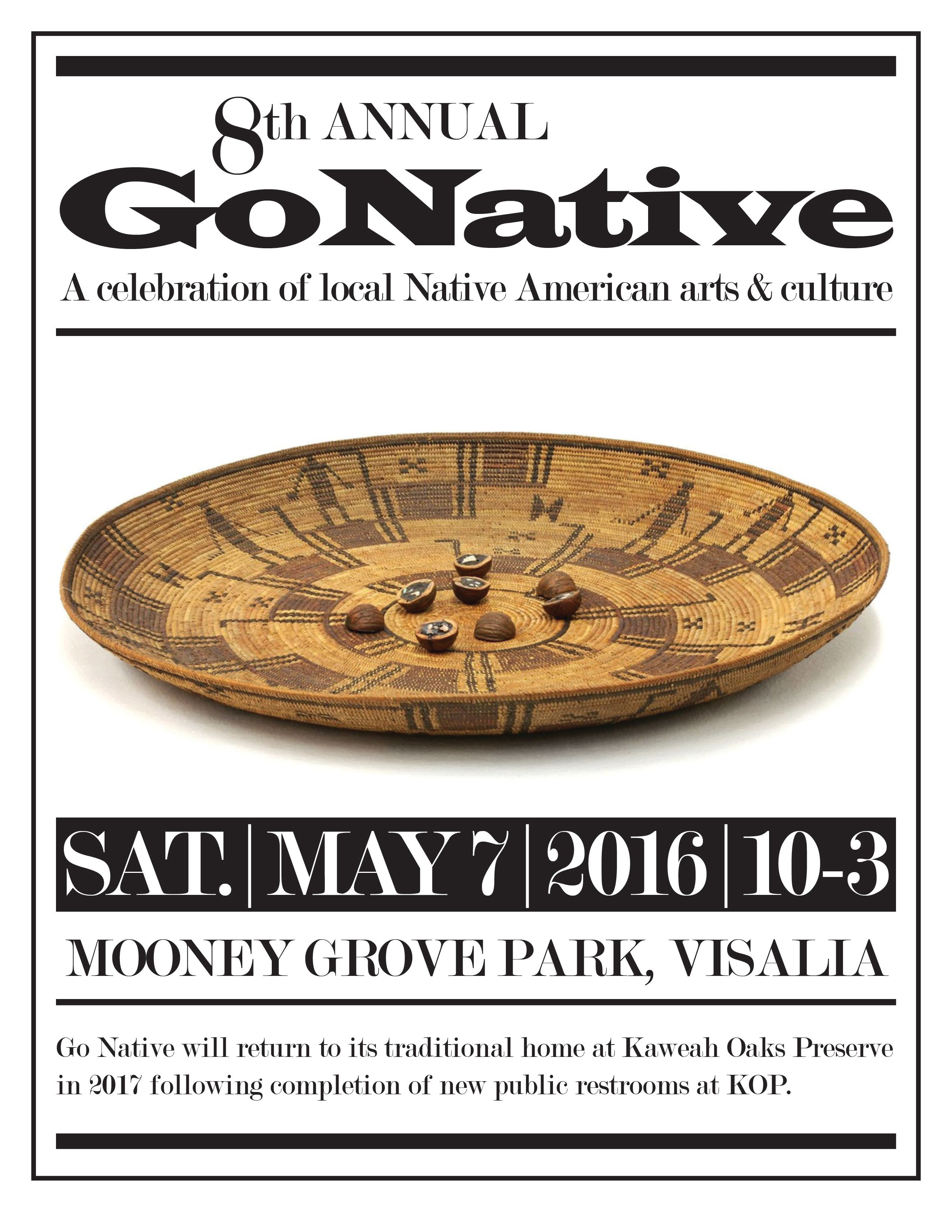 Go Native Visits Mooney Grove for 2016