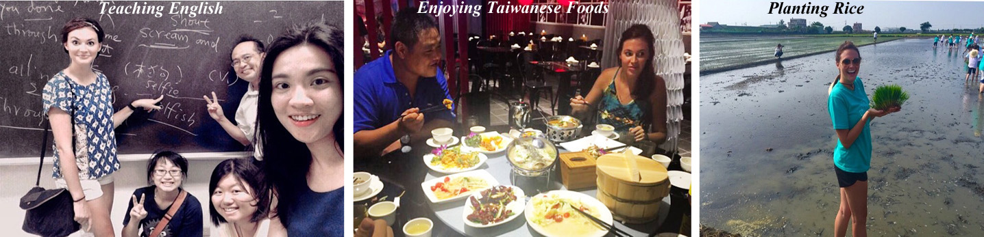 Education, Dining and Agriculture in Taiwan
